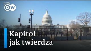 Waszyngton przed zaprzysiężeniem Joe Bidena