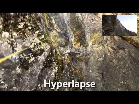 Microsoft Develops First Person Hyperlapse Video Stabilization Algorithm