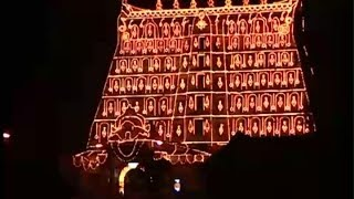 Lamps galore  - Lakshadeepam at Padmanabhaswamy temple