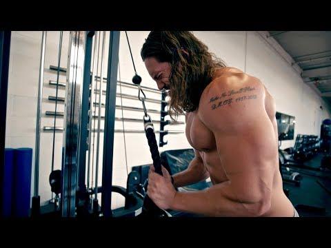 Greek God Program Workout - Chest, Shoulders & Triceps