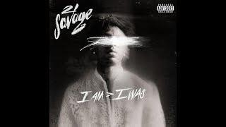 21 Savage  A Lot Ft. J Cole (instrumental With Hook + Lyrics)