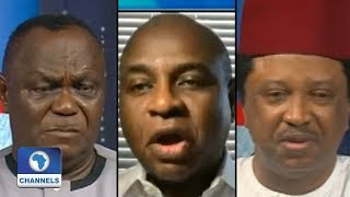 Moghalu, Aremu, Sani Debate Buhari's Food FX Ban Right
