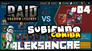 Raid Shadow Legends - Subiendo comida - GAMEPLAY ESPAÑOL HD