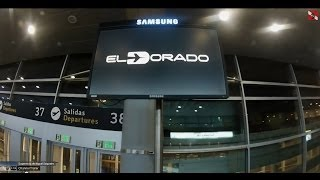 preview picture of video 'El Dorado International Airport (BOG) - Bogota, Colombia.'