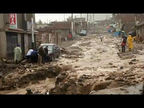 Deslizamientos de tierra en Perú