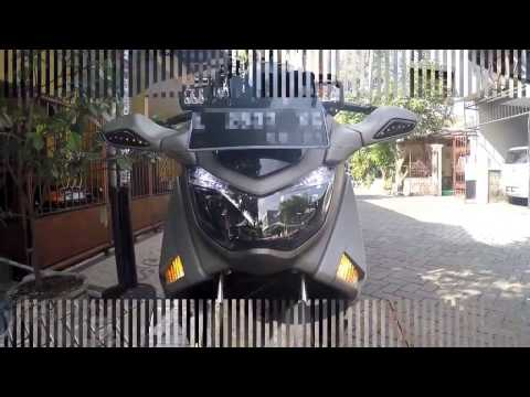Video Cara Pemasangan Cover Sein & Side Skirt Di NMAX (Kayak Moge)
