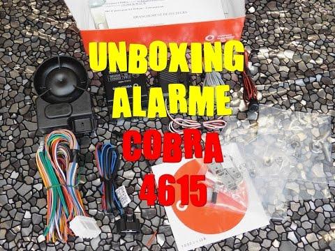 Présentation de l'alarme pour voiture Cobra 4615
