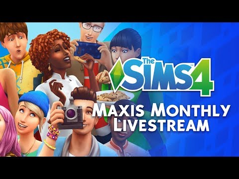 Maxis Monthly Livestream Replay: The Sims 4 Rebrand, New Features and MORE!
