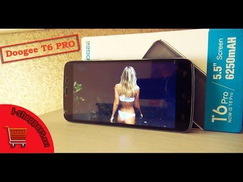 Обзор DOOGEE T6 PRO - всё о долгоиграющем смартфоне за 10 минут