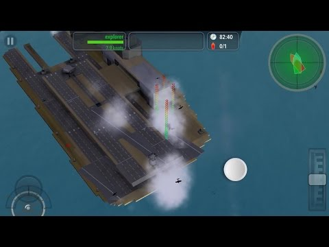 Exploring the Multistage air base in warship craft with the explorer sub
