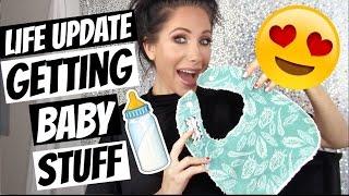 GETTING BABY STUFF!!! (LIFE UPDATE)