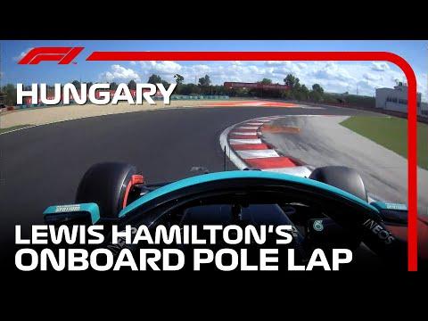 PP ルイス・ハミルトンのオンボード映像 F1第11戦ハンガリーGP(ブタペスト)
