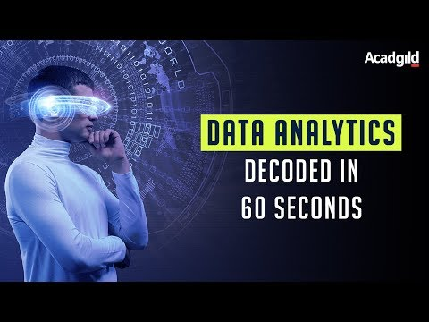 What is Data Analytics - Decoded in 60 Seconds | Data Analytics Explained | Acadgild