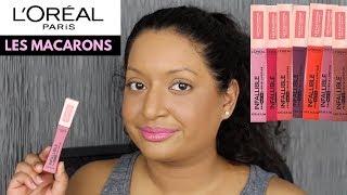 L'ORÉAL Infallible Pro-Matte Liquid Lipstick Les Macarons Swatches