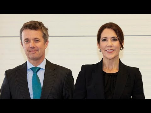 Kronprinsesse Mary og kronprins Frederik til P4G-topmøde
