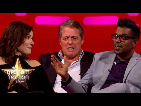 Hugh Grant, Nigella Lawson a Romesh Ranganathan u Grahama - The Graham Norton Show