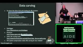 Anti-Forensics Occult Computing - Adrian Crenshaw