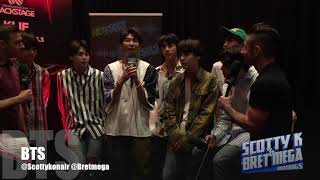 BTS TALK ABOUT WHO THEY WANT TO COLAB WITH :: SCOTTY & BRET | Kholo.pk