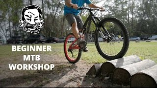 Riding over stuff on a MTB - Mountain Biking Explained EP4