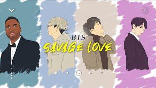 커버랄라 | Jawsh 685, Jason Derulo, 방탄소년단 (BTS) - Savage Love