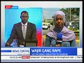 Developing story: Wajir gang rape where girl was allegedly raped by 3 men.