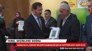 Hasan Kılca Karatay Belediye Başkanlığı için aday adaylığını açıkladı