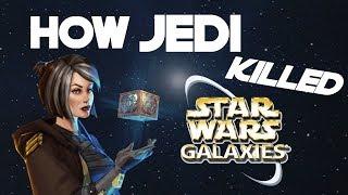 How Jedi Killed Star Wars Galaxies