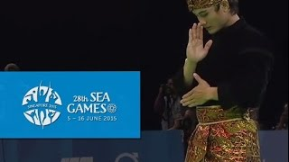 Pencak Silat Artistic Male Singles Finals Highlights 2ndDay 5  28th SEA Games Singapore 2015