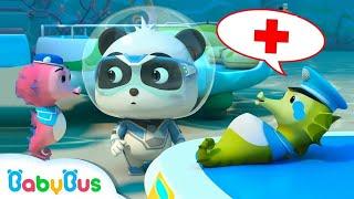 Giải cứu chú cá ngựa | Biệt đội siêu cứu hộ | Hoạt hình thiếu nhi vui nhộn | BabyBus