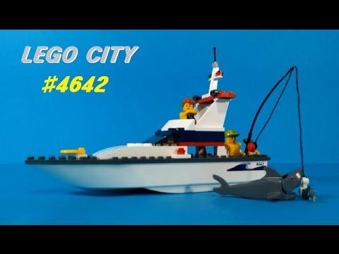 Vidéo LEGO City 4642 : Le bateau de pêche