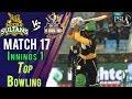 watch Quetta Gladiators Bowling  Quetta Gladiators Vs Multan Sultans   Match 17   7th March   HBL PSL 2018