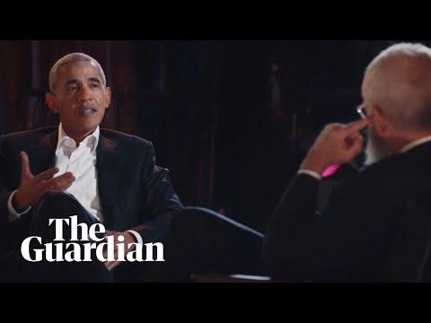 'I have dad moves': Barack Obama discusses dancing on David Letterman's new Netflix show
