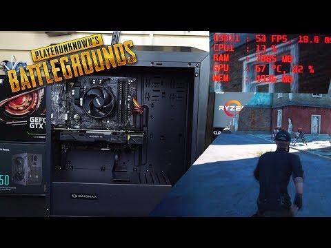 Ensamble de PC Gamer barata para jugar PUBG a 1080p a 60fps en Altos o Ultra   Proto HW