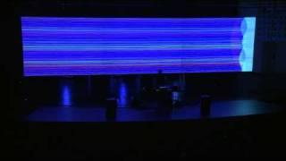"Ars Electronica 2009: alva noto: ""Unitxt Derivative Version"" (Part 3)"
