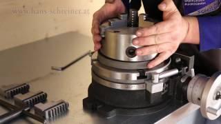 Metall und Werkstücke bearbeiten mit dem Rundtisch HV8 Hans Schreiner