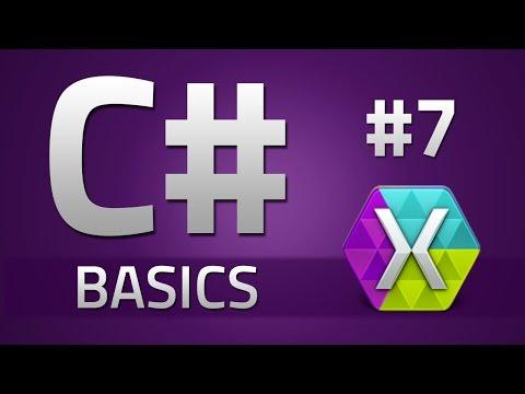 7. How to program in C# - WHILE LOOPS - Beginner Tutorial