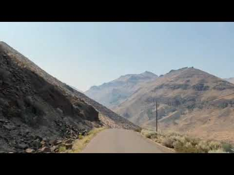 Drive between McCormack and Indian Creek campgrounds