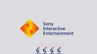 1350-Four Pixar Lamps Luxo Jr Logo Spoof Sony Interactive Entertainment