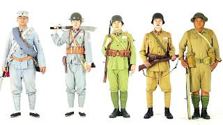 100 Years of the Chinese Military Uniform in 10 minutes