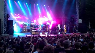 preview picture of video 'Limp Bizkit - Eat You Alive Dresden 16-06-12'