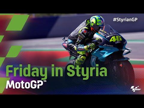 中上貴晶がトップタイム。MotoGP 2021 第10戦スティリアGP FP1のハイライト動画
