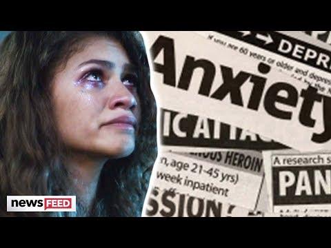 Zendaya REVEALS Severe Anxiety & The Effect 'Euphoria' Had On It!