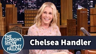 Chelsea Handler Supports Steve Harvey