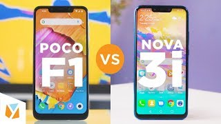 Xiaomi Pocophone F1 vs Huawei Nova 3i Comparison Review