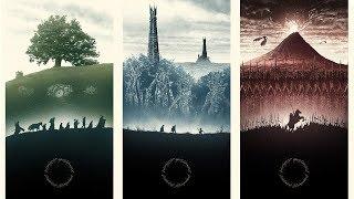 指環王電影音樂 / Властелин колец кино Музыка (Lord of the Rings Beautiful Theme Music)