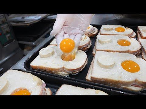Egg Cheese Toast – Korean street food