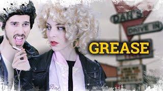 Transformation & Makeup Grease  | Como disfrazarse de Pink Lady & T Birds | Grease Makeup & Kostümen