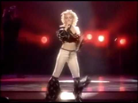 Madonna - Holiday [Blonde Ambition Tour]
