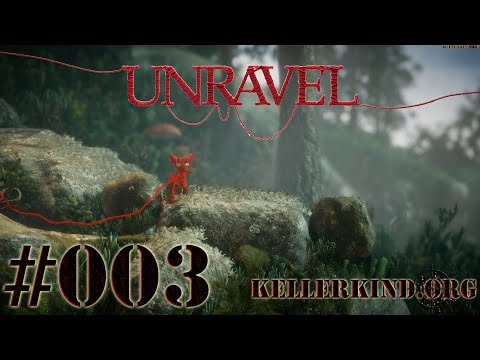 Unravel [HD|60FPS] #003 - Beerenmoor Teil 1 ★ Let's Play Unravel