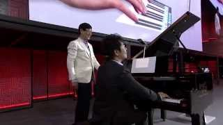 Lenovo Tech World - Lang Lang Plays A Virtual Piano